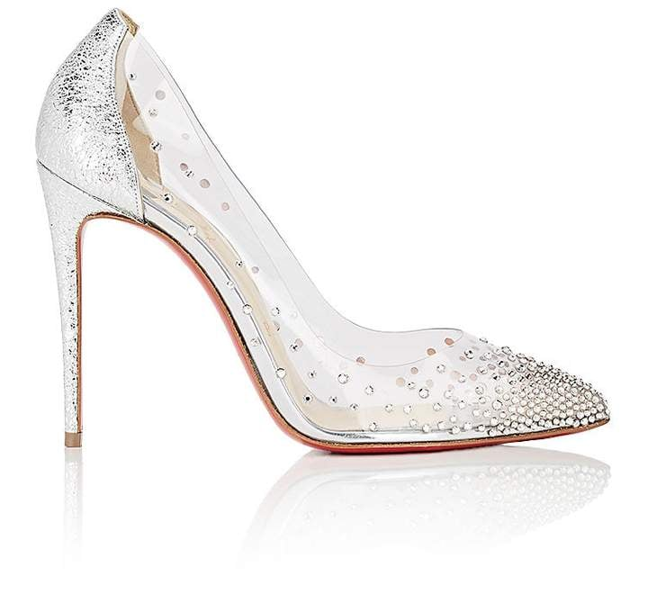 best sneakers 2645e 722bd Christian Louboutin Degrastrass PVC & Specchio Leather Pumps ...