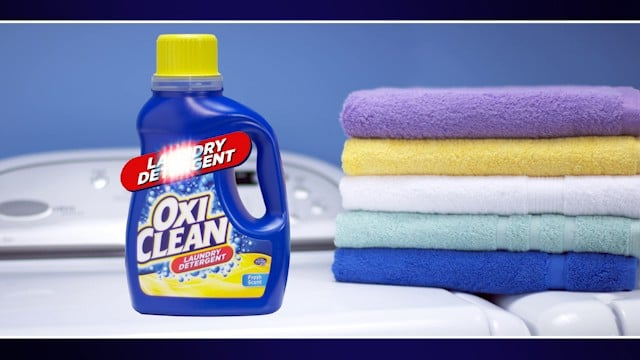 Tough Mudders are hard; fighting stains is harder. Use OxiClean™ Laundry Detergent for all your tough, dried-on stains.