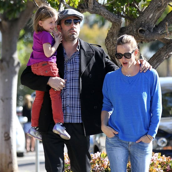 Ben Affleck and Jennifer Garner With Seraphina | Photos