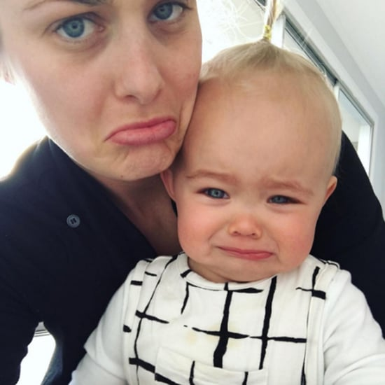 Mom's Honest Message About Teething Baby