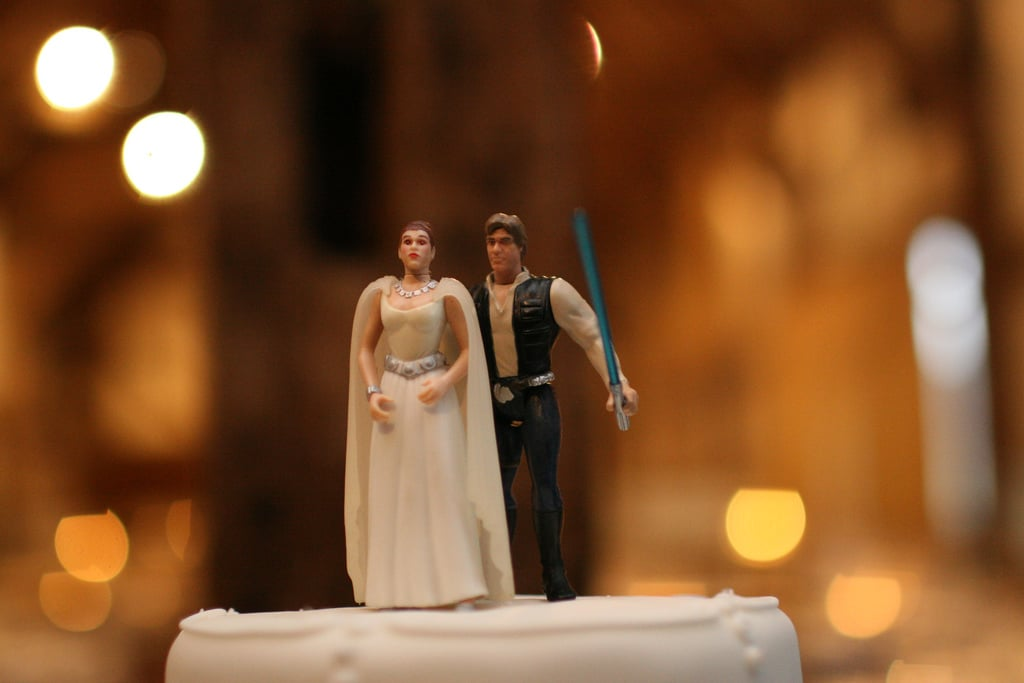 Han and Leia are so in love, just like you and your bride or groom-to-be.  Source: Flickr User Richard Moross