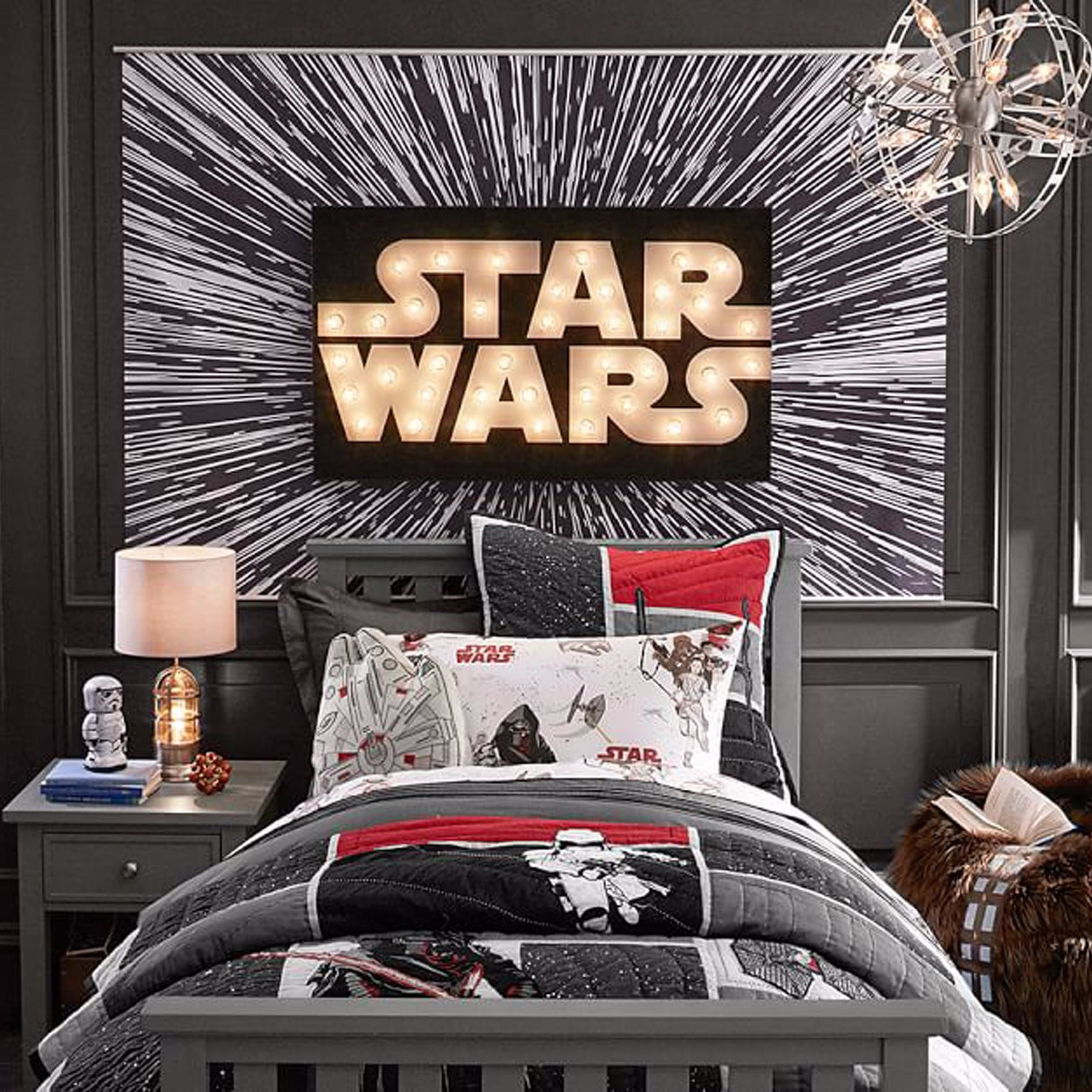 Star Wars-Themed Kids\' Bedroom | POPSUGAR Moms