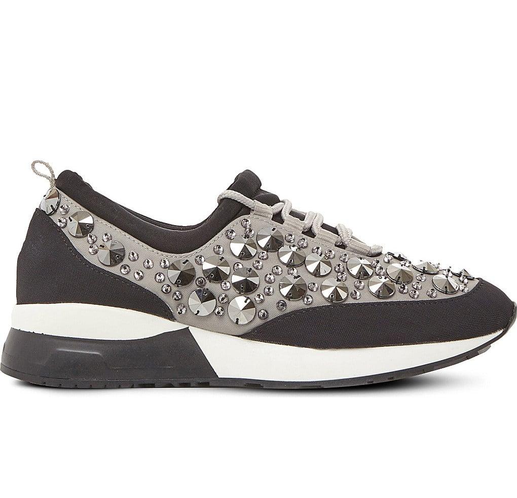 Who needs jewelry when you've got these blinged-out Dune Embellished Sneakers ($135)?