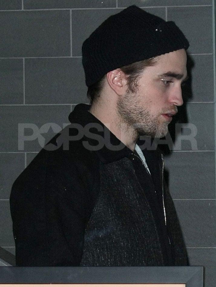 Photos of Robert Pattinson at Japanese Restaurant in New York City