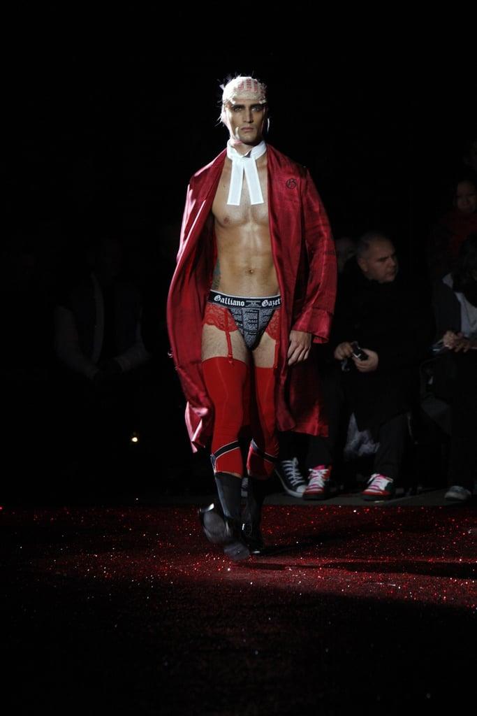 Paris: John Galliano Men's Fall 2009