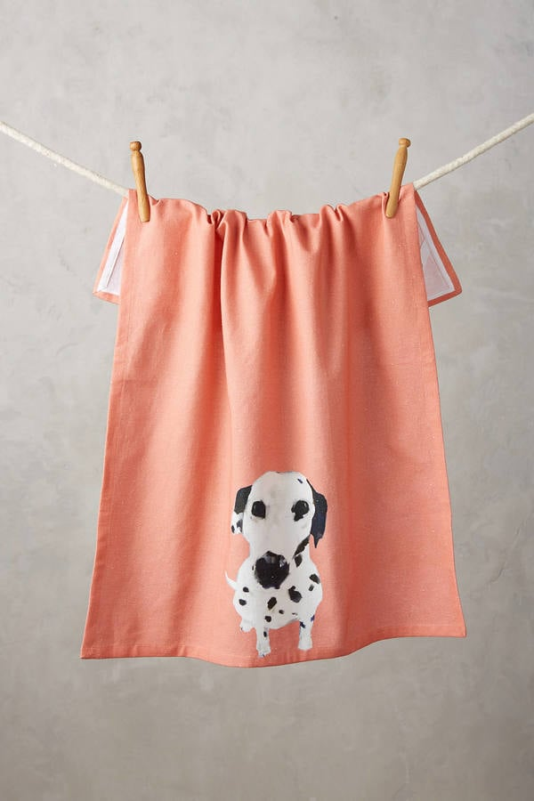 Sally Muir Dog-a-Day Tea Towel