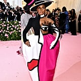 So Camp: Janelle Monáe Referencing Art and Her Own Exaggerated Camp DNA With a Wink — Literally