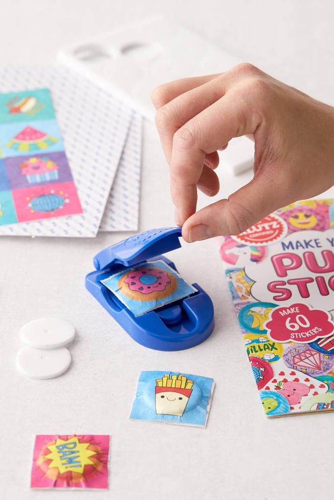 DIY Puffy Sticker Book Kit