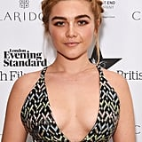 Florence Pugh's Front Braid Hair, 2016