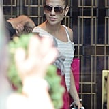 Jennifer Lopez stepped out in Canada.