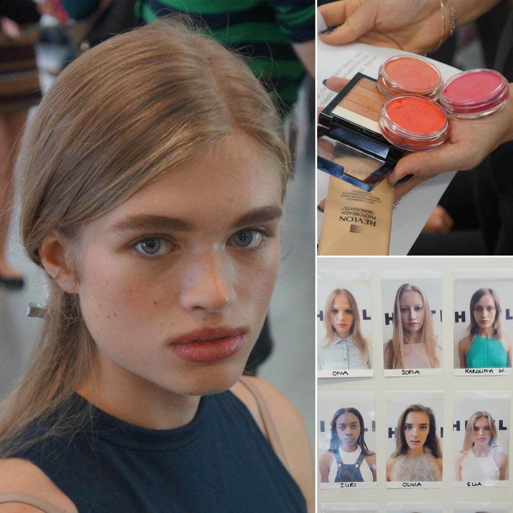 Whistles Spring 2014 Hair and Makeup | Backstage Beauty