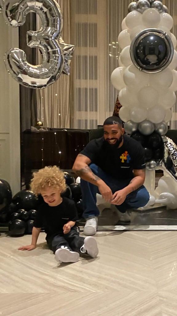 Drake's Photos of Himself and Adonis Celebrating
