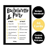 Harry Potter Bachelorette Party Game Cards
