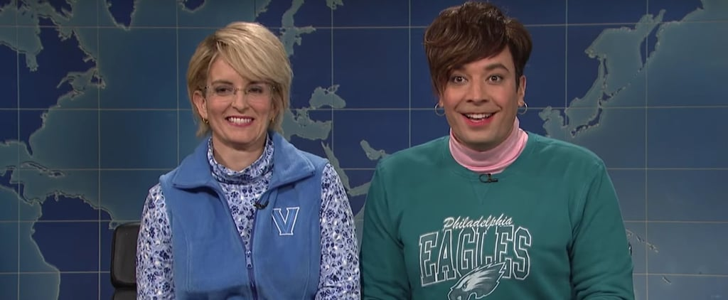 Jimmy Fallon Could Not Keep a Straight Face While Making an SNL Cameo With Tina Fey