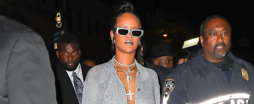 Rihanna's Nina Ricci Met Gala Afterparty Look 2018