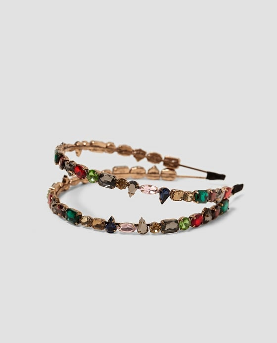 Zara Bejeweled Rigid Headband