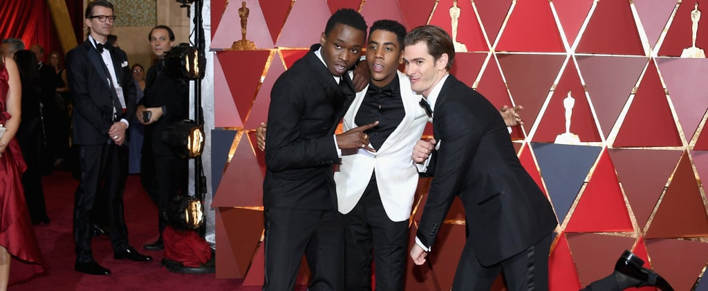 Nobody Had as Much Fun as Andrew Garfield at the Oscars
