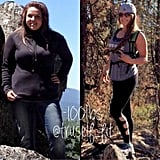 """""""100lbs lost and now I am able to feel confident and comfortable while adventuring."""""""