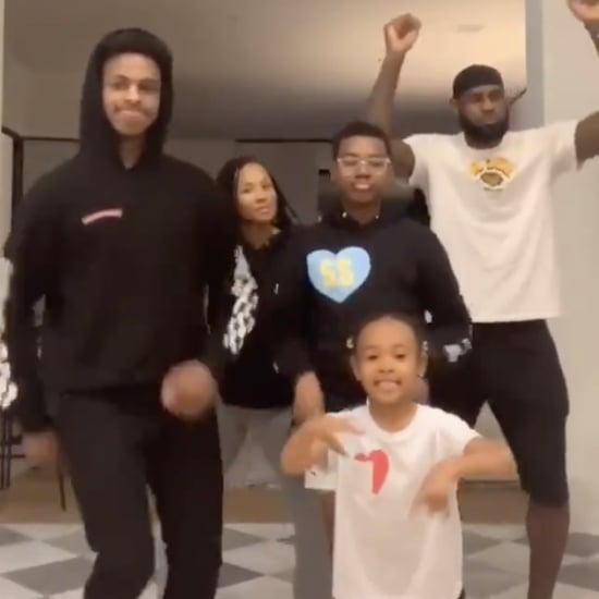 "Watch LeBron James and His Family's ""Hit the Woah"" Dance"