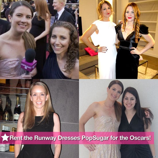 Pictures of Rent the Runway Dresses at 2011 Oscars