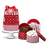 Alder Creek Gifts Tower With Cake Stand Christmas Gift Basket