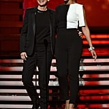 Ellen DeGeneres and Beyoncé