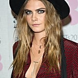 Cara Delevingne's Model-of-Duty Waves, 2015