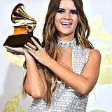 Maren Morris took home the Grammy for best country solo performance in 2017.