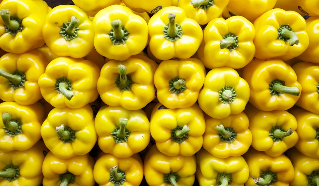 Bell peppers have different numbers of lobes that determine their best cooking use.
