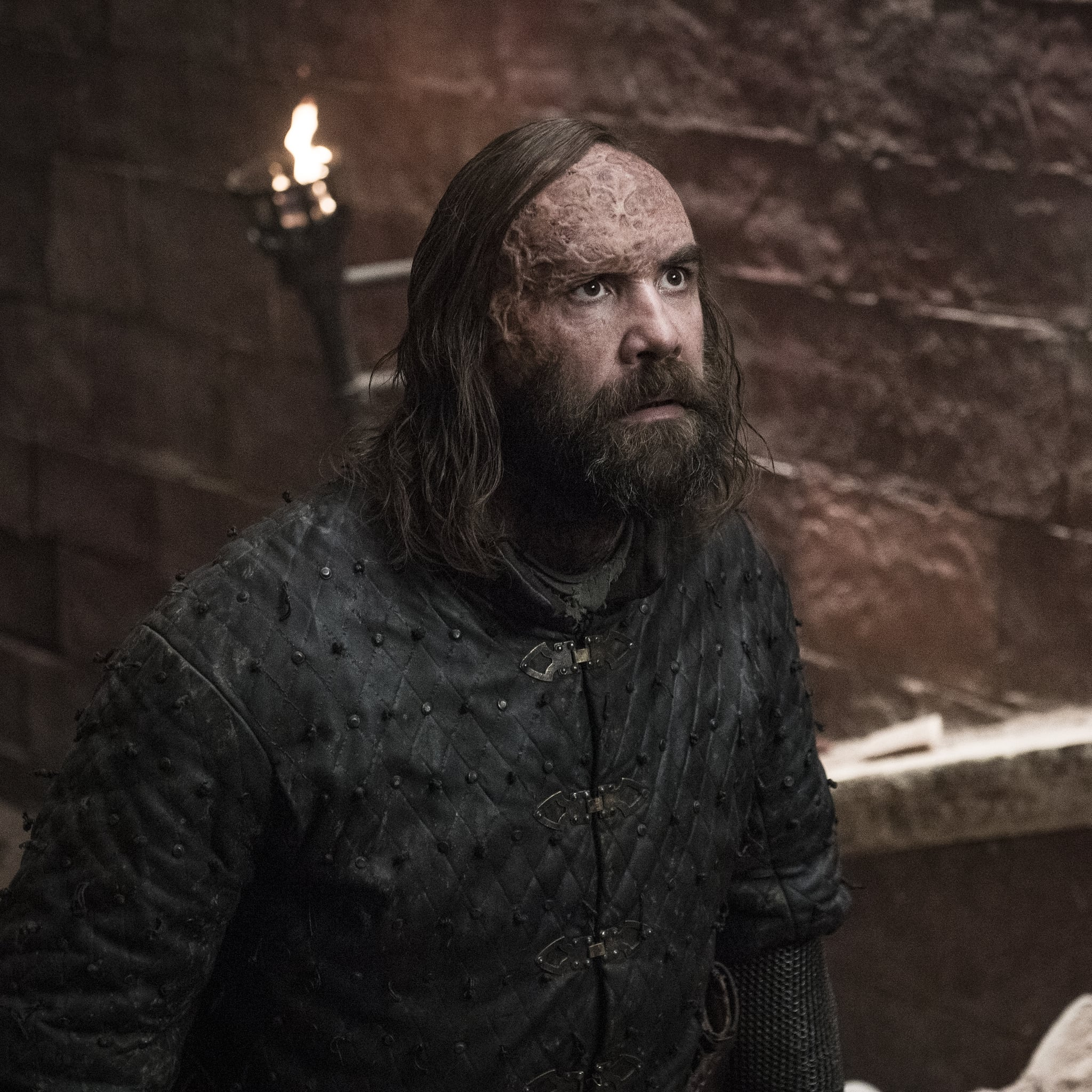 How Does The Hound Die In Game Of Thrones Season 8 Popsugar Entertainment Uk