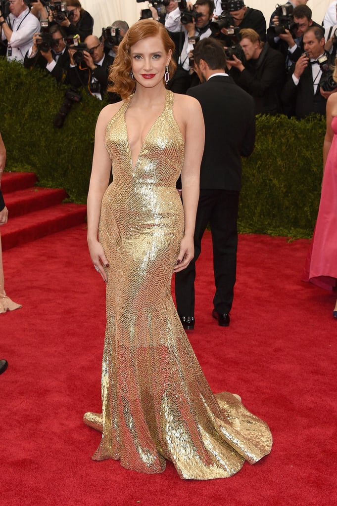 She wore a Givenchy Haute Couture by Riccardo Tisci dress and Piaget jewelry to the 2015 Met Gala.