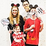 A photo booth gave everyone — including the Mesnick family — an opportunity to show their Minnie Mouse spirit.