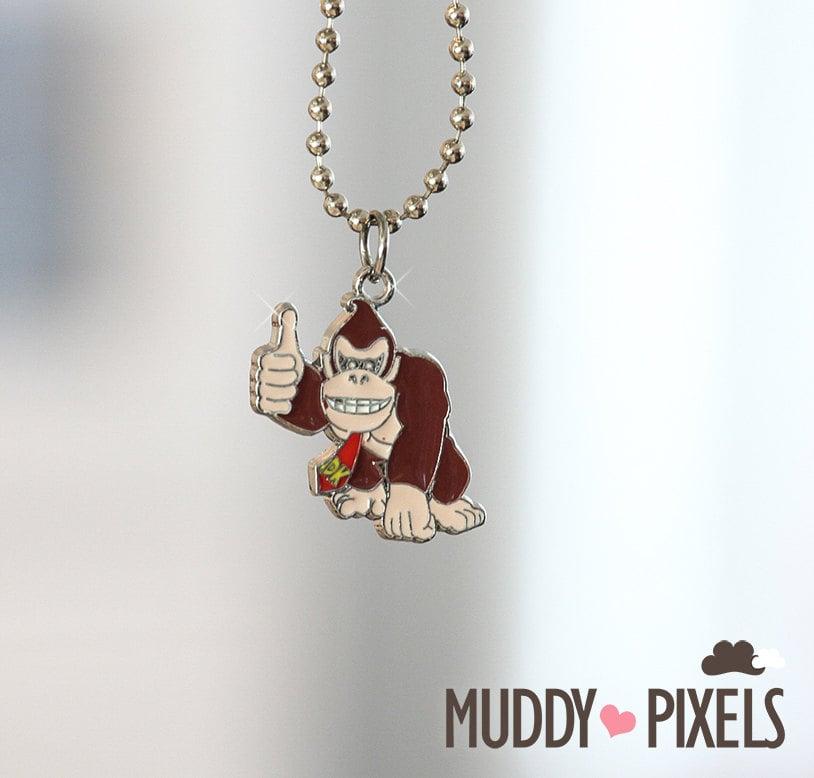 Donkey Kong Necklace ($10)