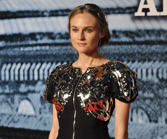 Slide Photo of Diane Kruger at German Premiere of Sherlock Holmes