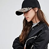 7X Baseball Cap With Leopard ($13)