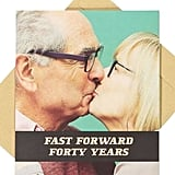 Forty Years Valentine's Day Card, $4.99