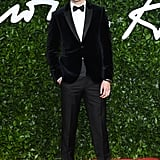 Nicholas Hoult at the British Fashion Awards 2019