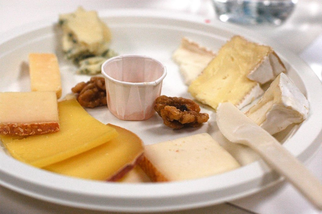 The cheese plate.