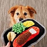 Bark Tubular TV Dinner Dog Toy