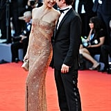 Kate Hudson and Matthew Bellamy showed sweet PDA at the premiere of The Reluctant Fundamentalist in 2012.