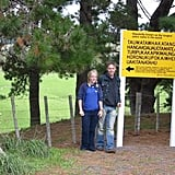 """Garfors and his sister visited a town in New Zealand that has the second-longest name in the world. Garfors says the name translates to, """"The summit where Tamatea, the man with the big knees, the slider, climber of mountains, the land-swallower who traveled about, played his nose flute to his loved one."""""""