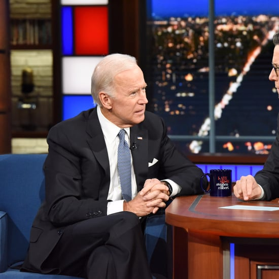 Joe Biden Quotes on Donald Trump on Late Show November 2017
