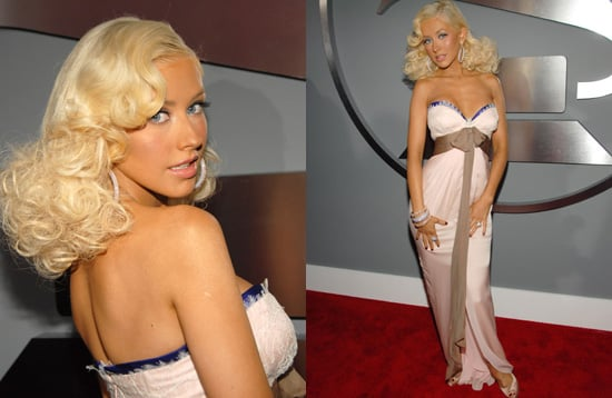 The Grammys Red Carpet: Christina Aguilera