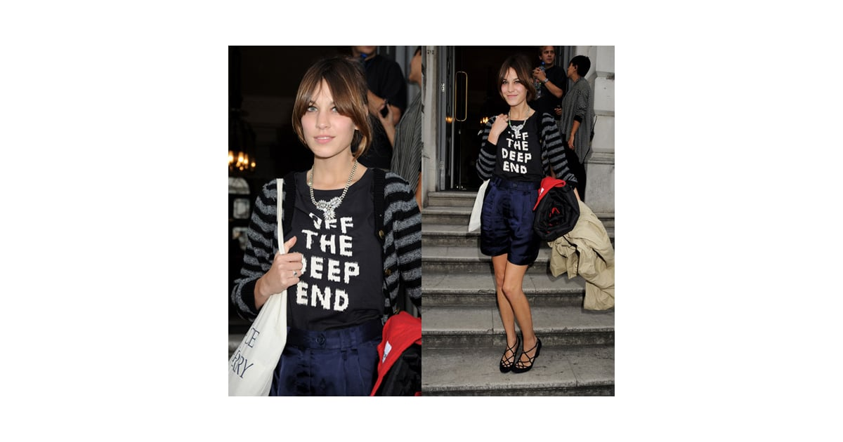Love It Or Hate It Alexa Chung At Somerset House