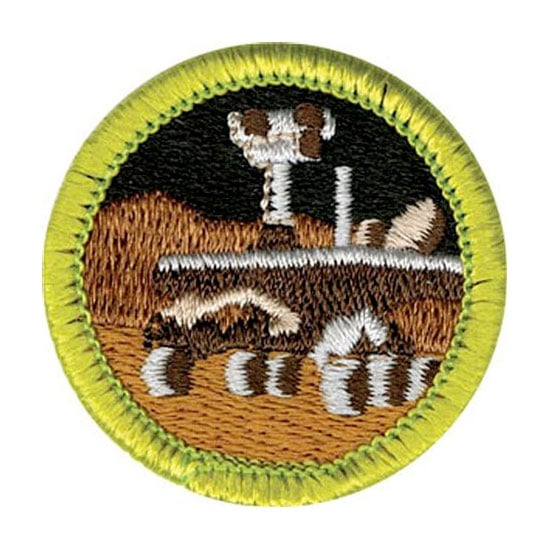 New Boy Scouts Robotics Badge