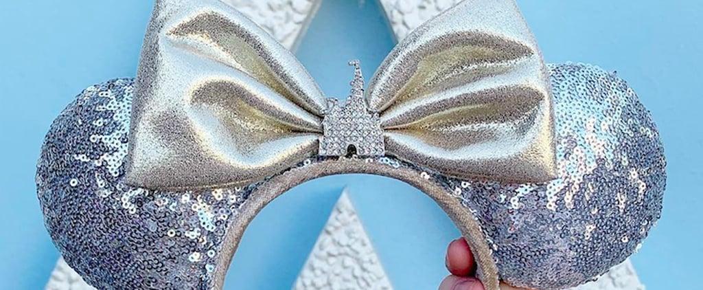 Disney Sequin Cinderella's Castle Minnie Ears