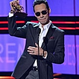 "When Marc Anthony Gave His Empowering ""Somos Latinos!"" Speech at Premio Lo Nuestro"
