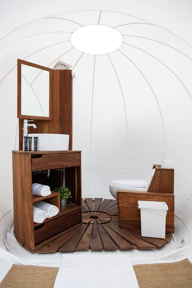 Campera Hotel Bubble Suite in Valle de Guadalupe
