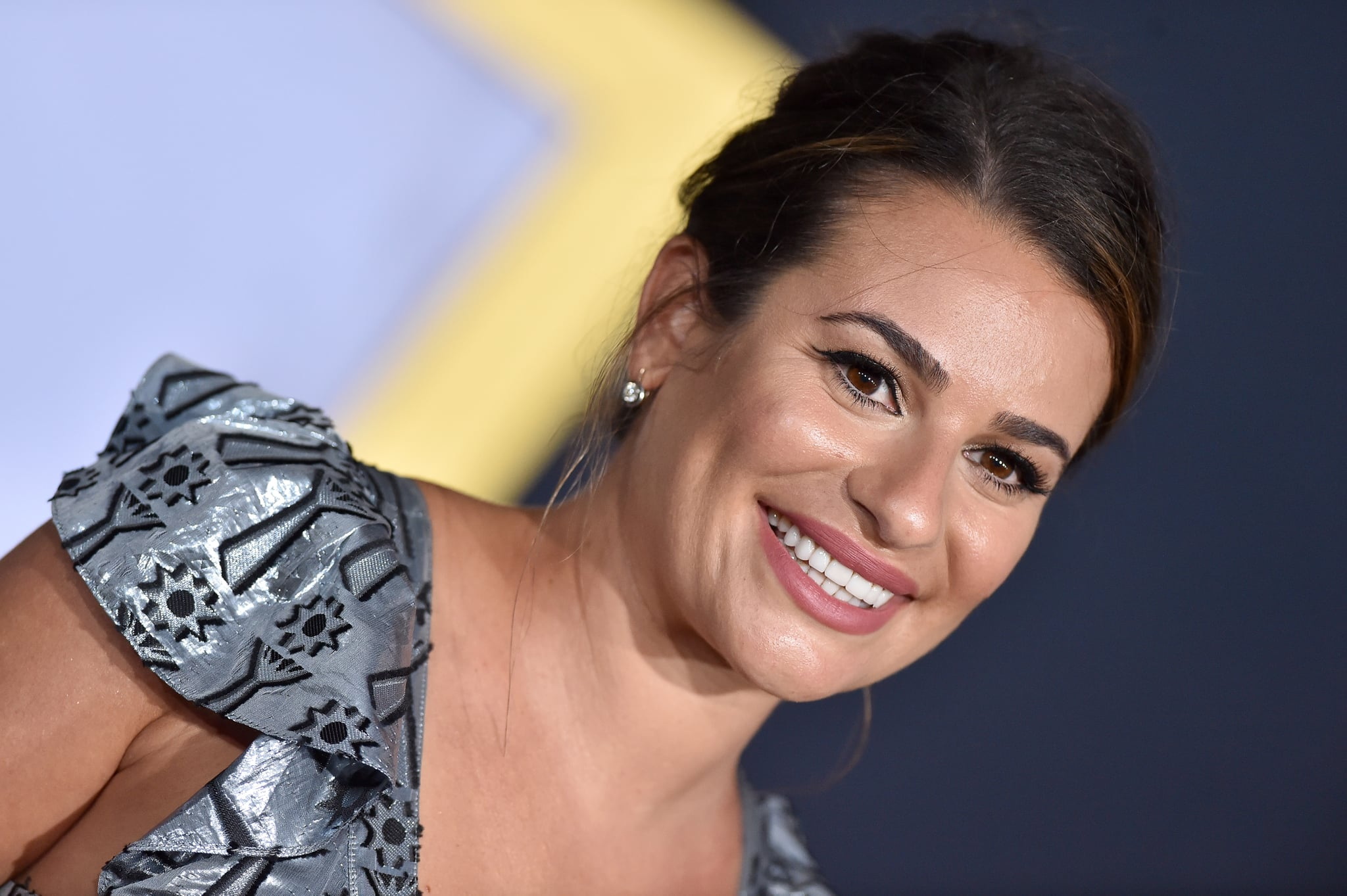 LOS ANGELES, CA - SEPTEMBER 24:  Lea Michele attends the premiere of Warner Bros. Pictures' 'A Star Is Born' at The Shrine Auditorium on September 24, 2018 in Los Angeles, California.  (Photo by Axelle/Bauer-Griffin/FilmMagic)