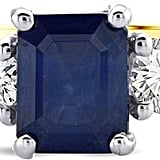 Lustro Sapphire and Diamond Ring